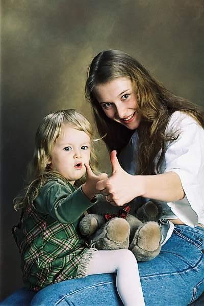 Любка-мама