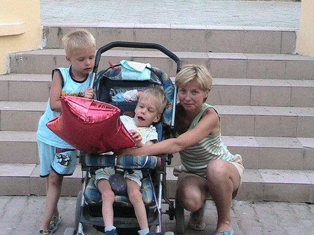 Sveta&two sons